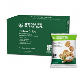 Protein Chips - Sourcream & Onion 10 stycken